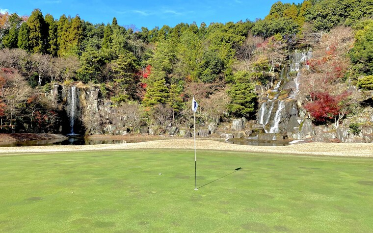 Ryosen Golf Club, hole number 6, in Mie prefecture, Japan