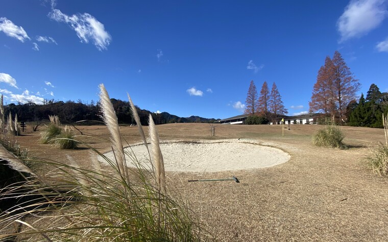 Suzuka Country Club, practice bunkers in Mie prefecture, Japan
