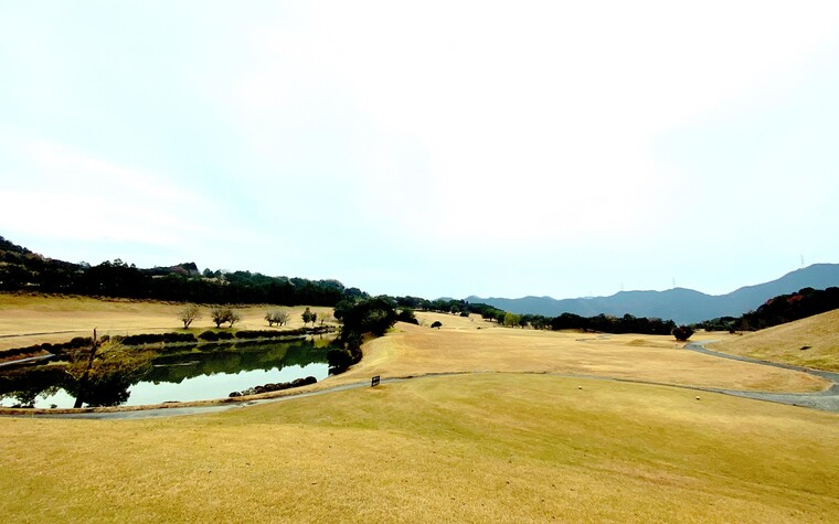 A photo of the Leograd golf course in Wakayama, Japan.