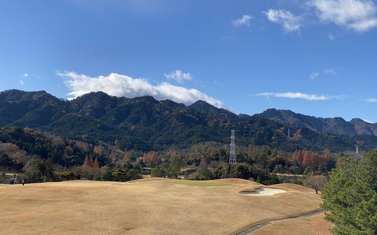 Suzuka Country Club, 180 yard par 3, in Mie prefecture, Japan
