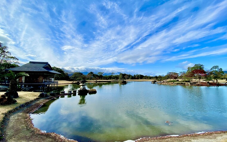 Ryosen Golf Club, tea house, in Mie prefecture, Japan