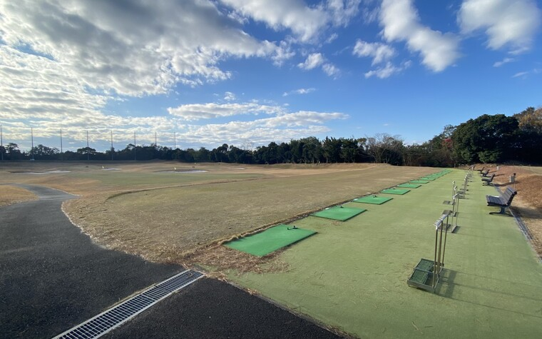 Kintetsu kashikojima Country Club, 15 bay , 250 yard range