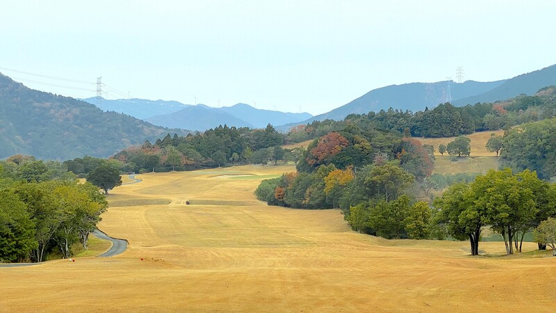 A picture of the Leograd Golf Club in Wakayama, Japan, in early winter