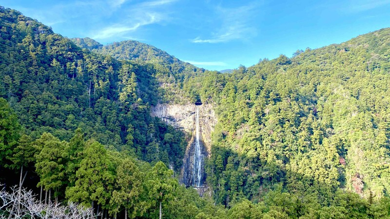 The Nachi waterfall is a must-see when you are visiting the Wakayama area in Japan