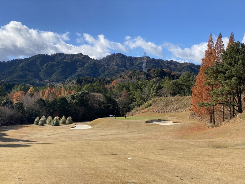 Wide view of Suzuka Country Club golf course in Mie prefecture, Japan
