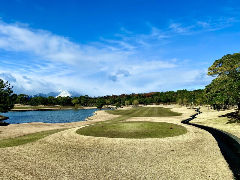 Wide view of Ryosen Golf Club in Mie prefecture, Japan